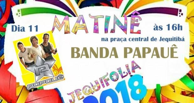 MATINÊ JEQUIFOLIA