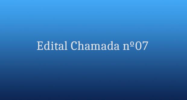 Edital de Chamada APOIO nº07