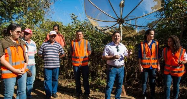 Dia de Campo apresenta ações de melhoria da qualidade da água em Jequitibá