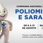 Secretaria de Saúde lança Campanha de Vacinação contra Poliomielite e Sarampo