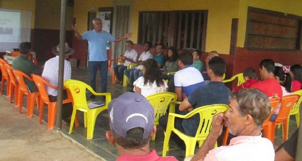 Prefeitura de Jequitibá participa de oficina sobre produção de água em áreas rurais