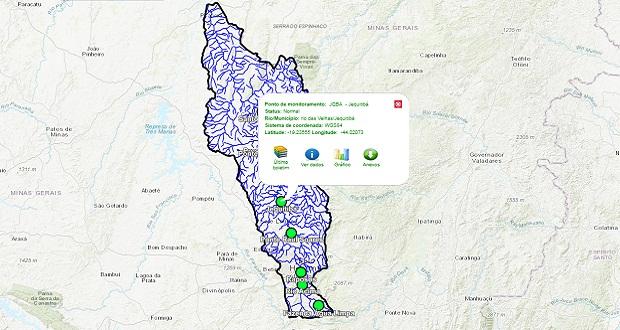 Saiba como consultar online o nível de água do Rio das Velhas
