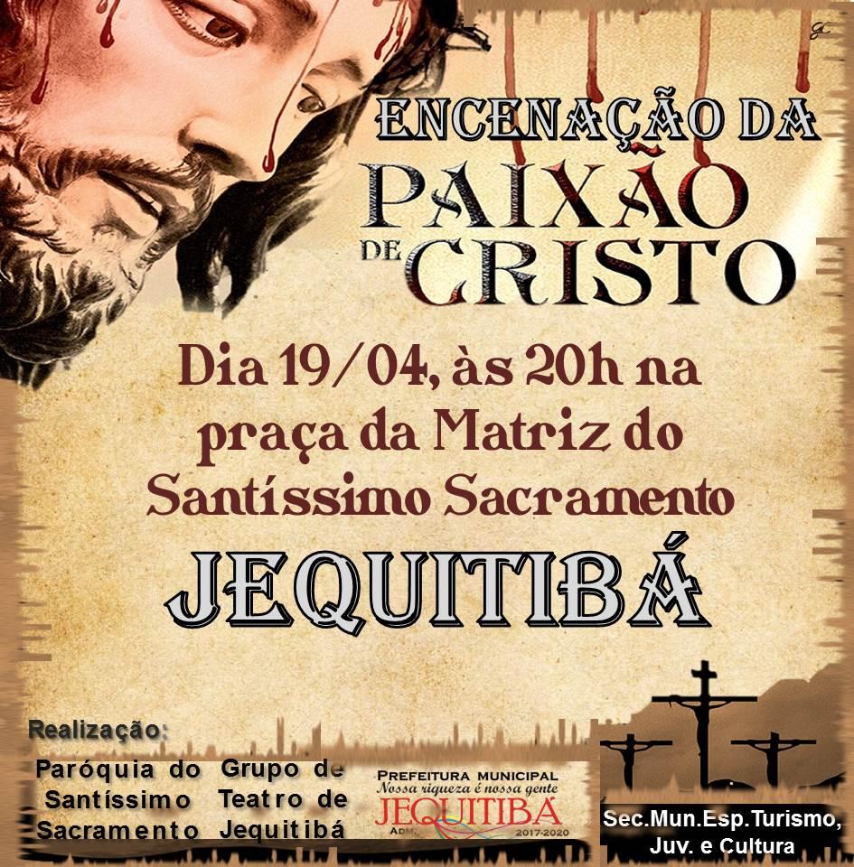 Teatro da Paixão de Cristo em Jequitibá