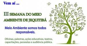 Prefeitura de Jequitibá realiza 3ª Semana do Meio Ambiente