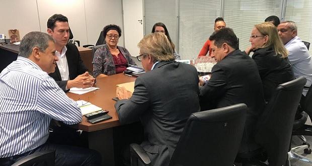 Prefeitura busca apoio do Estado para restauração da Matriz e Festival de Folclore