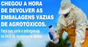 2ª Campanha de recolhimento de embalagens vazias de agrotóxicos de Jequitibá
