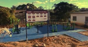 Prefeitura entrega Academia Ao Ar Livre em Campo Alegre