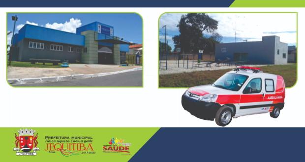 Prefeitura inaugura Academia da Saúde e UBS e entrega ambulância