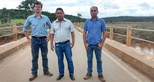 Ponte sobre o Rio das Velhas liberada para veículos de até 16 toneladas