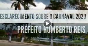 Prefeitura de Jequitibá decide cancelar o Carnaval 2020