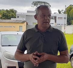 O secretário de Saúde, Múcio Eduardo Silva