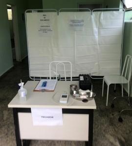 Sala de Triagem (Foto: Ascom/Saúde Jequitibá)