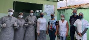 Todos envolvidos na luta contra o coronavírus