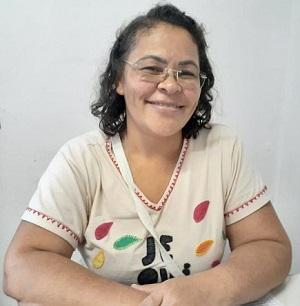 Marlucia Moreira, secretária de Assistência Social (Foto: Caio Pacheco/Ascom Prefeitura Jequitibá)