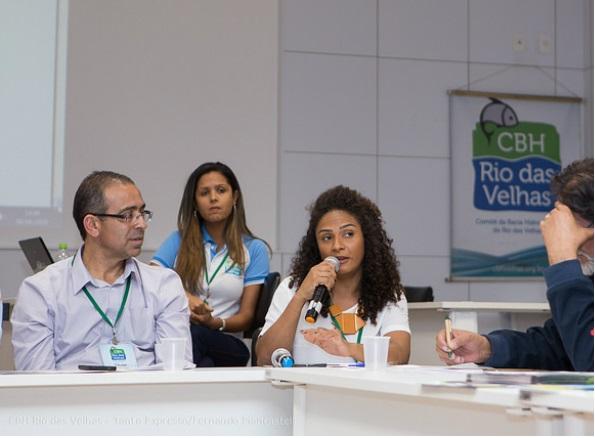 Poliana Valvas (ao centro) é a secretária de Meio Ambiente e integra o CBH Velhas