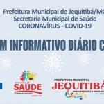 Boletim epidemiológico do Covid-19 de Jequitibá 31 de maio