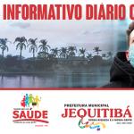 Boletim epidemiológico do Covid-19 de Jequitibá 3 de junho